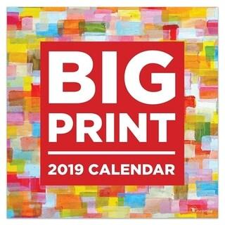 2019 Big Print Wall Calendar