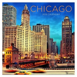 2019 Chicago Wall Calendar