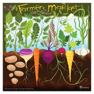 2019 Farmer's Market Wall Calendar