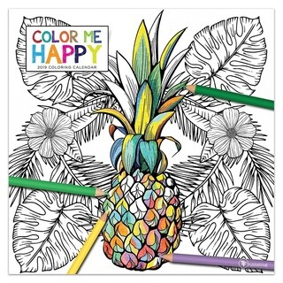 2019 Color Me Happy Wall Calendar