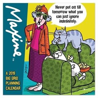 2019 Maxine Planning Wall Calendar
