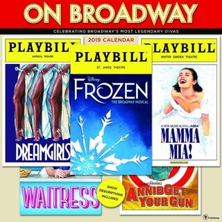 2019 On Broadway Wall Calendar