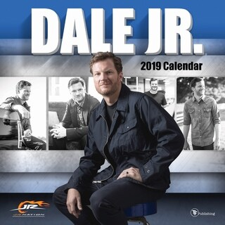 2019 Dale Earnhardt Jr Wall Calendar
