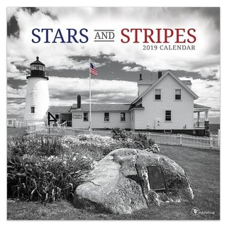 2019 Stars and Stripes Wall Calendar