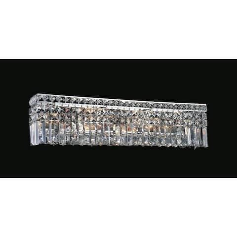 Silver Orchid Dahlberg 6-light Wall Sconce with Chrome Finish