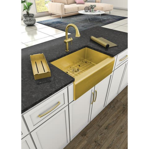 Whitehaus Collection Waterhaus Stainless Steel Pull-down Faucet