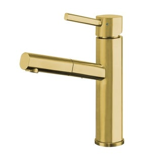 Whitehaus Collection Waterhaus Stainless Steel Single-lever Faucet
