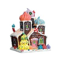 Lemax  Meringue Manor  Multicolored  Resin  Porcelain Village House  1 pk