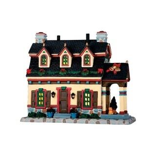 Lemax Sullivan Manor Multicolored Resin 1 each Porcelain Village Building