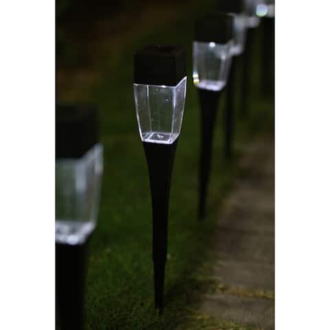 Outdoor Solar Light Pathway Lights - 24 Piece Set