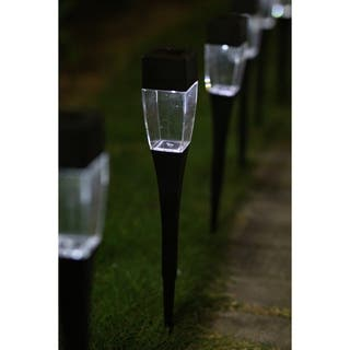 Outdoor Solar Light Pathway Lights - 24 Piece Set