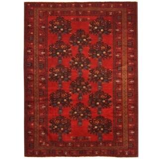 Handmade Balouchi Wool Rug (Iran) - 7' x 9'8