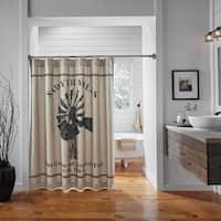 VHC Sawyer Mill Farmhouse Bath Windmill Shower Curtain
