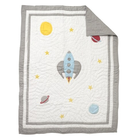 Space Man Baby Quilt