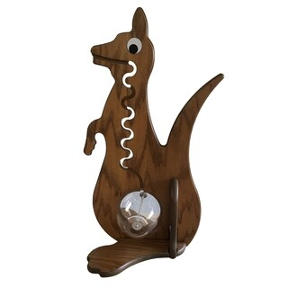 Imitative KangarooShaped Piggy Bank- from Solid Oak