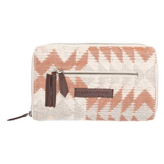 VHC Romy Creme White Bella Taylor Accessories Signature Zip Wallet