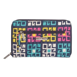 VHC Zealand Indigo Blue Bella Taylor Accessories Signature Zip Wallet