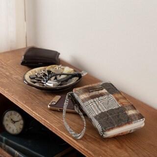 VHC Rory Greige Grey Bella Taylor Accessories Plaid Modern Wristlet Wallet
