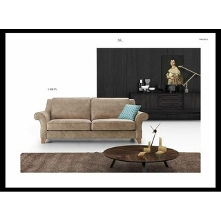 Urban Design Mid Century Modern Premium Quality Gold Sofa