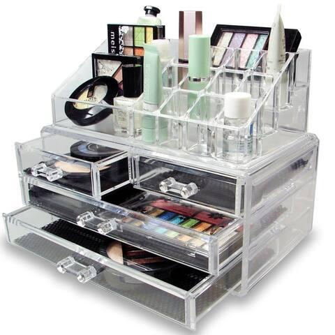 OnDisplay Lisa Tiered Acrylic Cosmetic/Jewelry Organizer