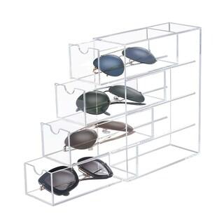 OnDisplay 4 Tier Acrylic Sunglasses/Eyeglasses Organizer