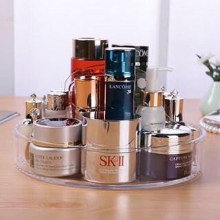 OnDisplay Deluxe Acrylic Circular Cosmetic Jewelry Organization Tray