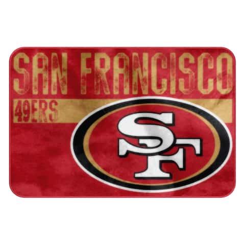 NFL 327 49ers WornOut Foam Mat - Multi