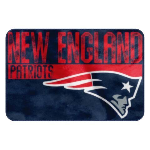 NFL 327 Patriots WornOut Foam Mat