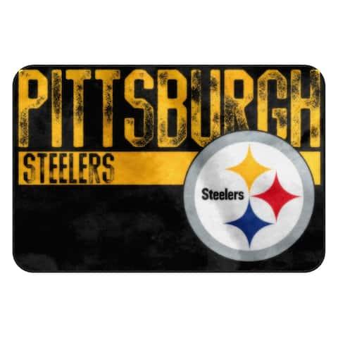 NFL 327 Steelers WornOut Foam Mat