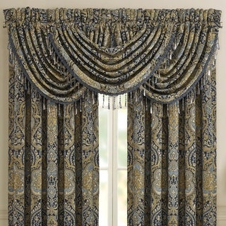 Five Queens Court Palmer Waterfall Window Valance