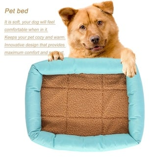 Dogs Cats Bed Puppy House Dog Nest Mat Cushion Blanket Dog Kennel (M)