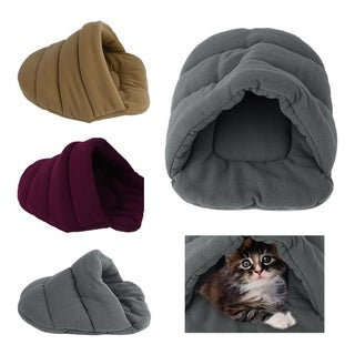 Comfortable Soft Cotton Dogs Cat Winter House Washable Slipper Nest