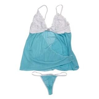 y Lace Lingerie Nightwear Underwear Babydoll Dress