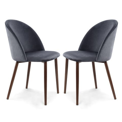 Edgemod Sedona Velvet Dining Chair (Set of 2)