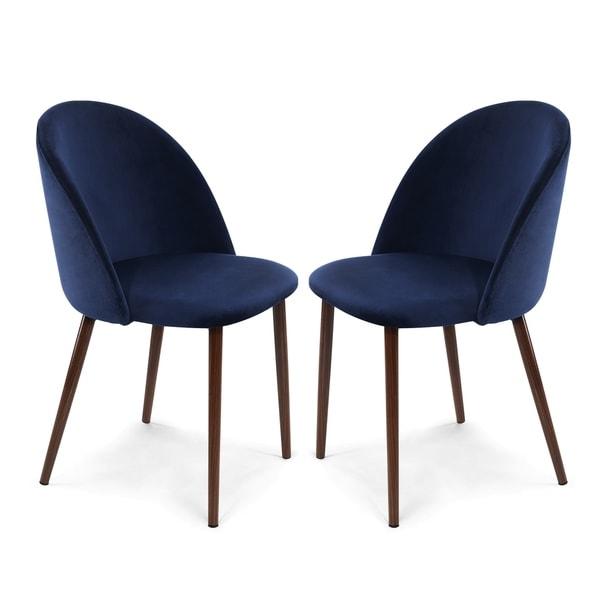 Edgemod Sedona Velvet Dining Chair (Set of 2). Opens flyout.