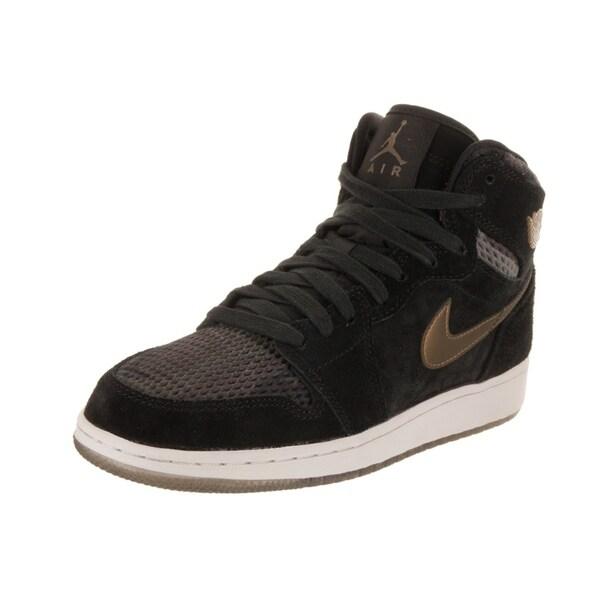 sneakers for cheap b3733 403d2 Nike Jordan Kids Air Jordan 1 Ret Hi Prem HC Basketball Shoe