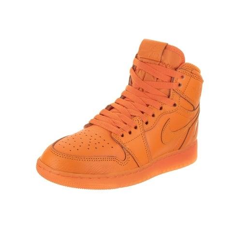 Nike Jordan Kids Air Jordan 1 Ret Hi OG G8RD BG Basketball Shoe