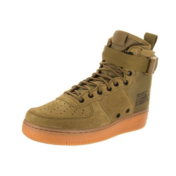 finest selection 551c7 5900d Shop Nike Men's SF AF1 Mid Basketball Shoe - Free Shipping ...