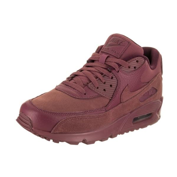 2a679477a2e Shop Nike Men s Air Max 90 Premium Running Shoe - Free Shipping ...