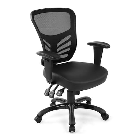 EdgeMod Brighton Office Chair with Vegan Leather Seat