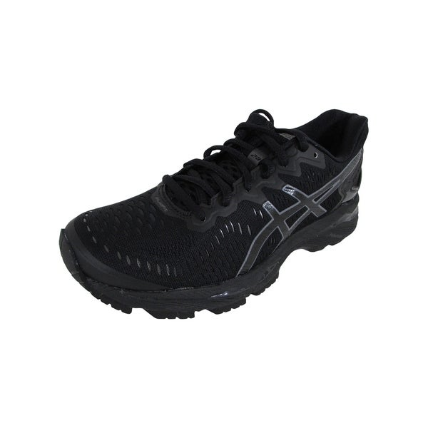 the latest 703ae ce101 Asics Womens GEL-Kayano 23 Running Shoes, Black/Onyx/Carbon
