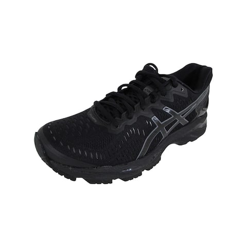 Asics Womens GEL-Kayano 23 Running Shoes, Black/Onyx/Carbon