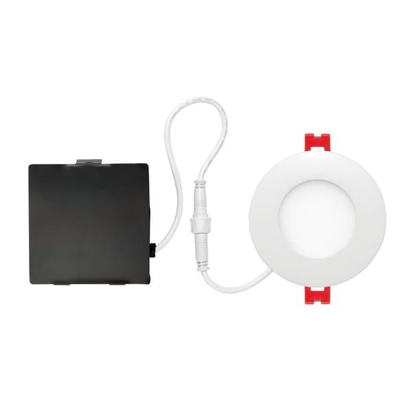 3 in. Ultra Slim Designer Series Integrated LED Recessed Lighting Kit
