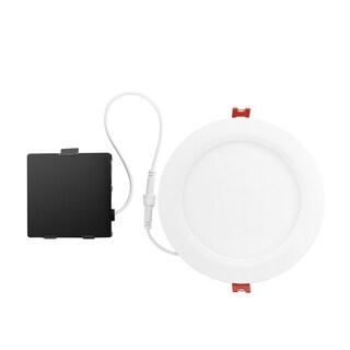 6 in. Ultra Slim Designer Series Ambient Dimming Integrated LED Recessed Lighting Kit