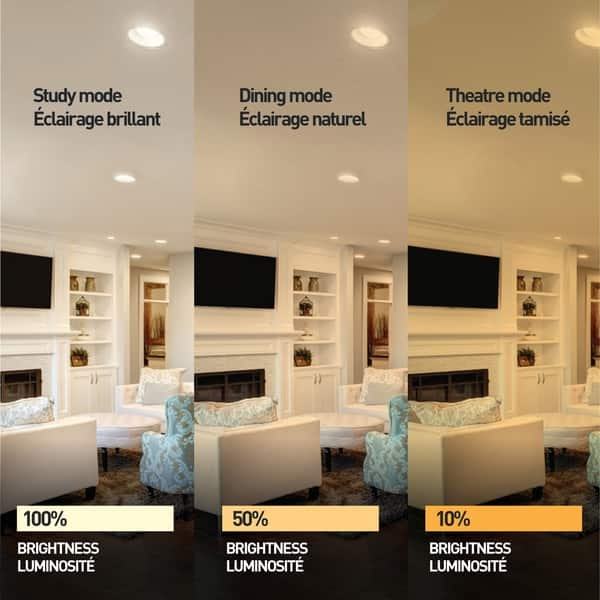 3 In Ultra Slim Ambient Dimming Integrated Led