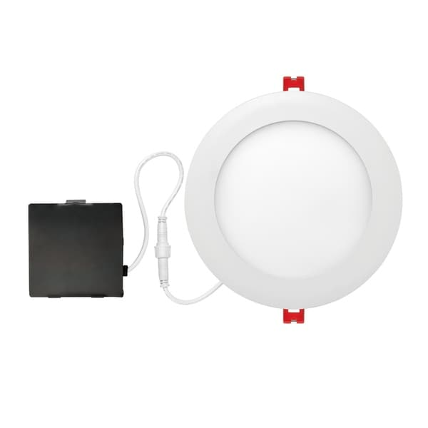6 in. Ultra Slim Designer Series Integrated LED Recessed Lighting Kit. Opens flyout.