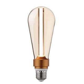 15-Watt Equivalent Cool White S-Type Designer Dimmable Amber LED