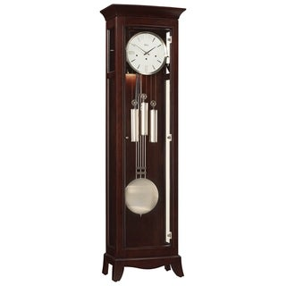 Ridgeway Chapman Traditional, Elegant, Antique Design, Grandfather Style Chiming Floor Clock with Pendulum and Movements
