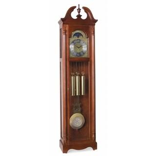 Ridgeway Lynchburg Traditional Grandfather-style Wood Chiming Floor Clock with Pendulum and Movements