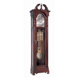 Ridgeway Morgantown Traditional, Elegant, Antique Design, Grandfather Style Chiming Floor Clock with Pendulum and Movements